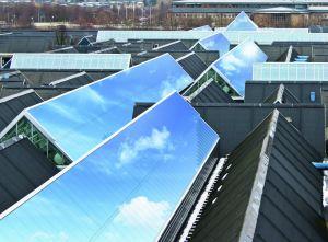 Nyt b�redygtigt glastagssystem fra VITRAL